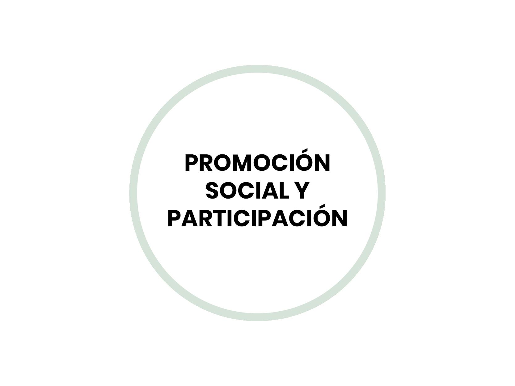 Promoción social y participación