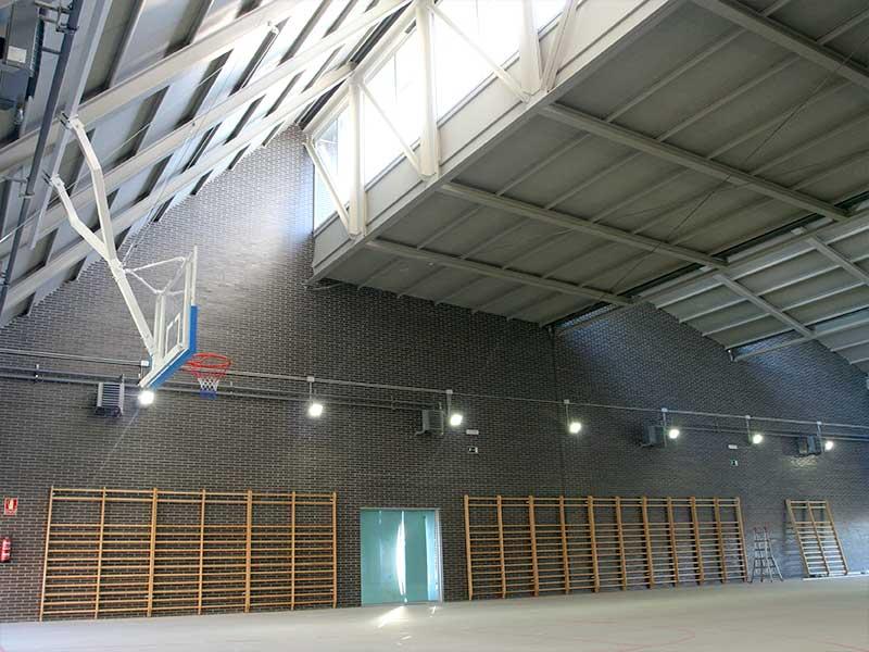 Proyecto y obra de gimnasio bioclimático
