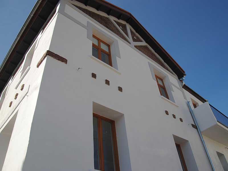 Rehabilitación de vivienda unifamiliar en colonia histórica
