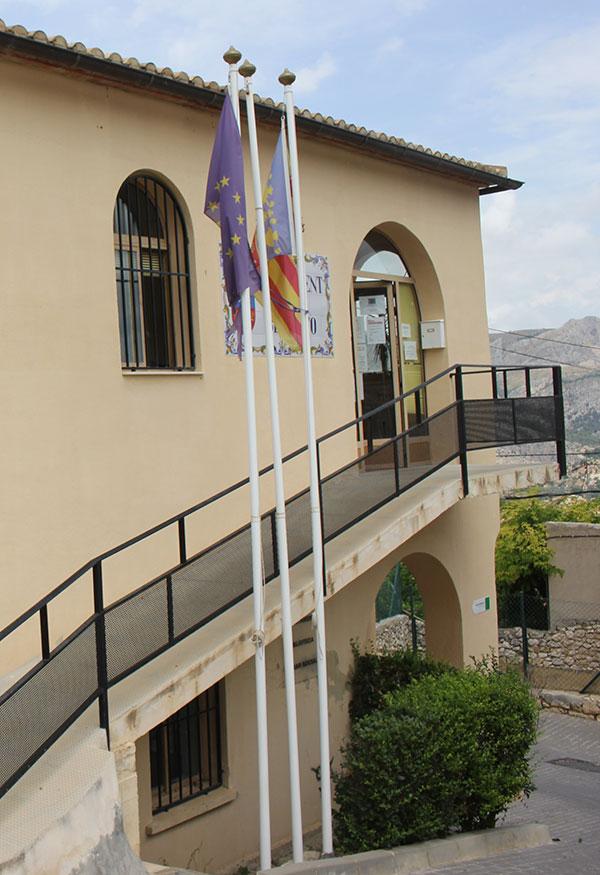 Mejora Eficiencia Energética Ayuntamiento Benifato